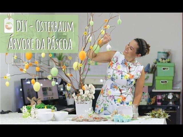 DIY | Osterbaum - Árvore de Páscoa da Familinha