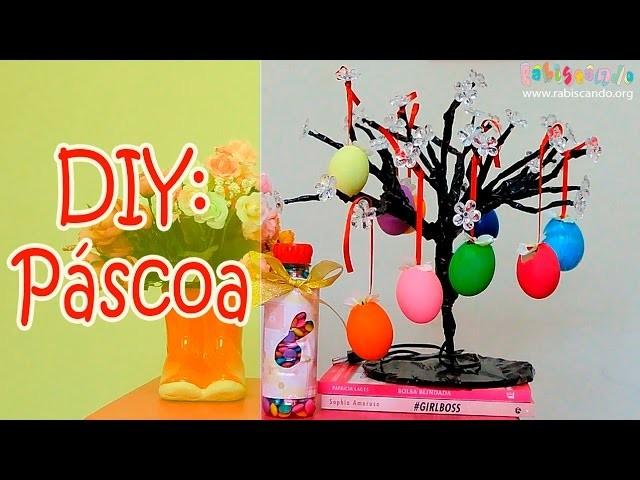 DIY PÁSCOA: 2 ideias fáceis e baratas de presente e decoração