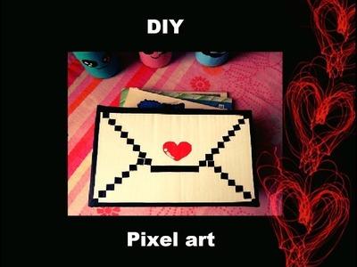 DIY - Pixel art na caixinha