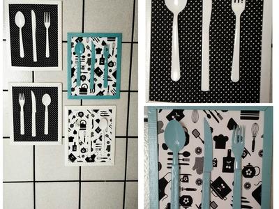 DIY::Quadro decorativo para Cozinha!!