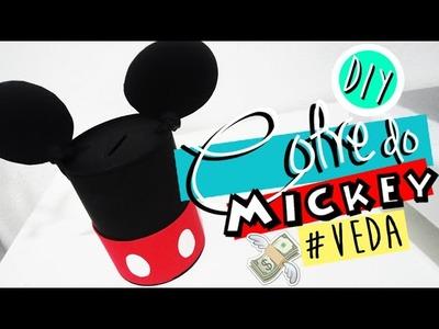DIY.FAÇA VOCÊ MESMO: COFRE DO MICKEY | VEDA #24 - O Blog da Ka ♥