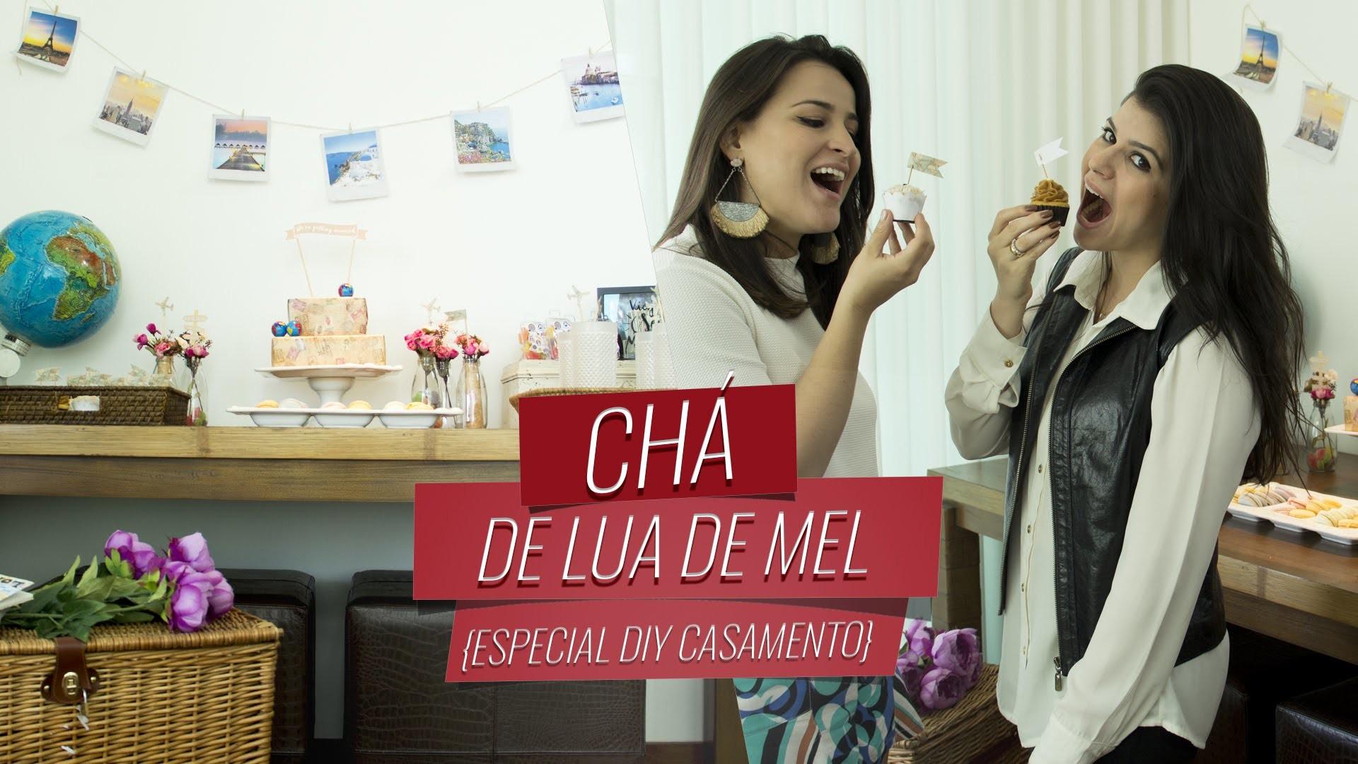 Chá de Lua de Mel {Especial DIY Casamento} | Drops das Dez por Laína Laine