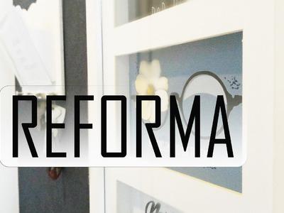 DIY: REFORMA Hall de Entrada Gastando pouco! - Thais Rodrigues