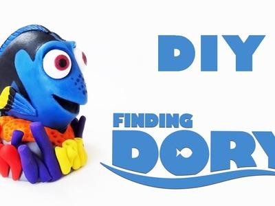 DIY: Como Fazer a Dory em Biscuit (PROCURANDO DORY Tutorial) Ideias Personalizadas - DIY