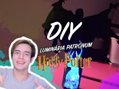 DIY. Luminária Expecto Patronum ♥. Harry Potter !
