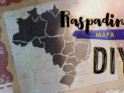 DIY Mapa de raspar #5