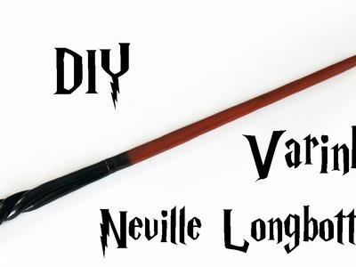 DIY: Varinha Neville Longbottom (HARRY POTTER WANDS) Ideias Personalizadas - DIY