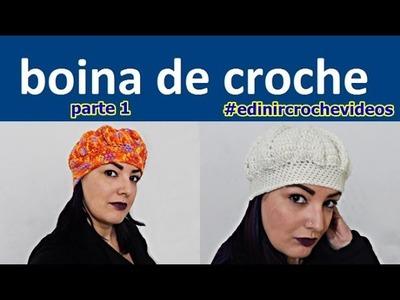 BOINA DE CROCHE PARA INICIANTES | PARTE 1 | DIY - BONNET