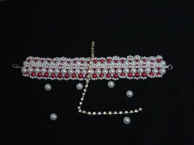 DIY- bracelete  de  pérolas  VINTAGE.