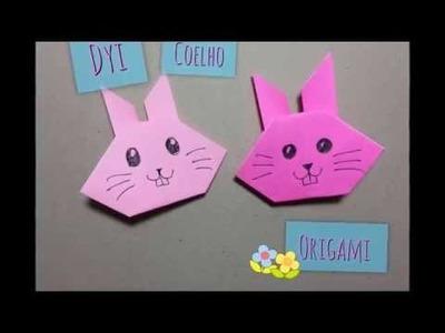 Diy - Coelho de papel fácil (Origami)