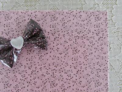 DIY - Impermeabilize o tecido e cubra seu caderno!!