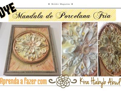 DIY: Mandala em Porcelana Fria