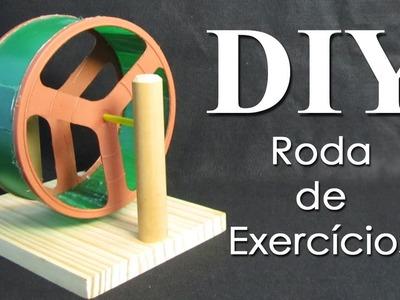 DIY: Roda de Exercícios para Hamster (DIY Hamster Wheel)