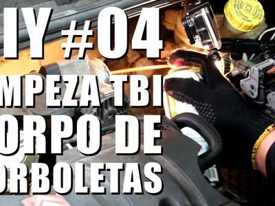 Limpeza do Corpo de Borboleta (TBI) - DIY #04 Auto Super