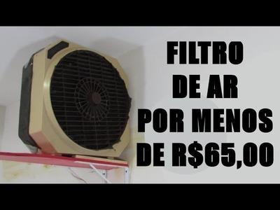 Como fazer um Filtro de ar por menos de R$65 - DIY | Dica rápida #19
