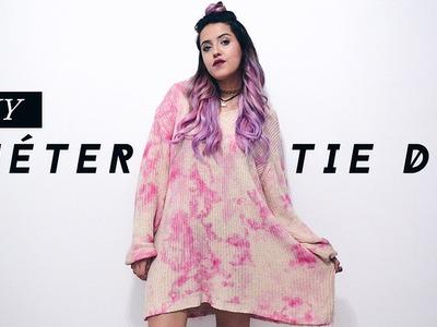 DIY - Suéter Tie Dye