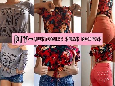DIY transforme suas roupas - customização