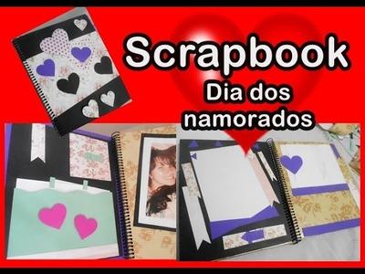 Scrapbook para o dia dos namorados (BARATO, CRIATIVO, ORIGINAL E LINDO)
