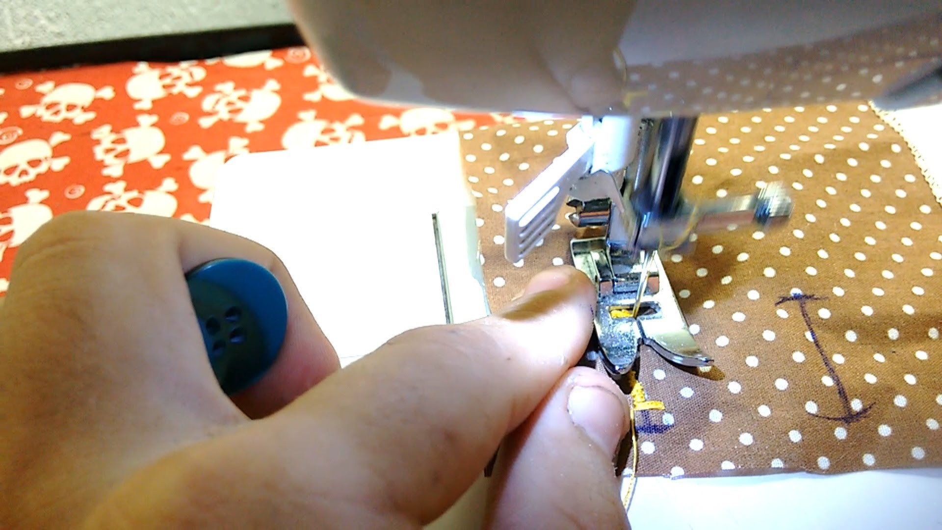 Como fazer casa de botão com caldador de uso geral