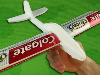 Como fazer um Avião que Voa Longe