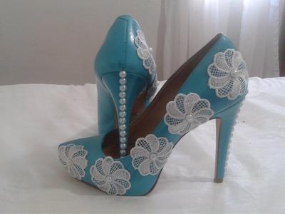 Customização em sapato