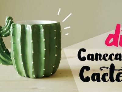 DIY: Caneca Cactos (Cactus Mug) por Isabelle Verona
