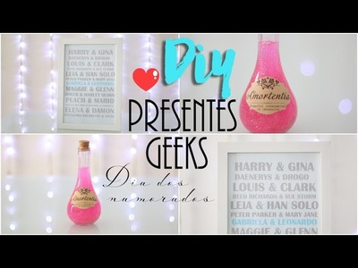 DIY: Presentes Geeks | Dia dos Namorados - Harry Potter e Casais Nerds