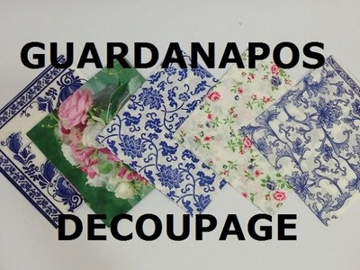 Guardanapos para Decoupage - Estúdio Brigit