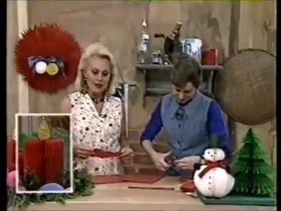 """NATAL - """"Vela. Árvore. Boneco de Neve - Casinha de abelha"""" -  Programa """"Note e Anote"""" - TV Record"""