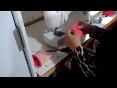 Como fazer botinha de bebê