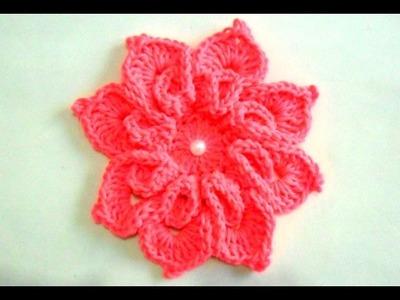 Flor Em Crochê:Do Jogo de Cozinha Retangular