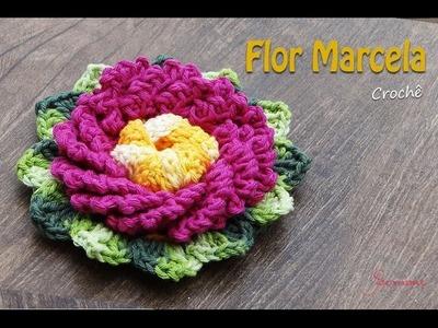 Flor Marcela em Crochê Parte 1