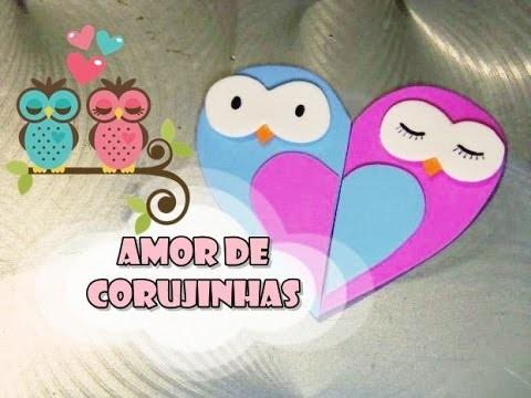 DIY.: Amor de Corujinhas