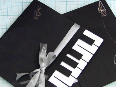 DIY Card Piano 1