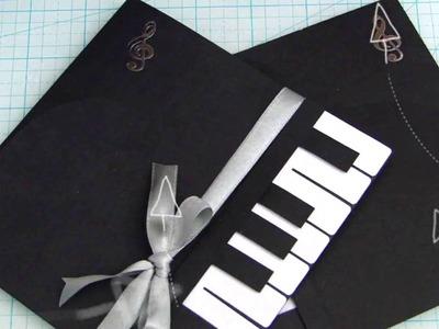 DIY Card Piano 1