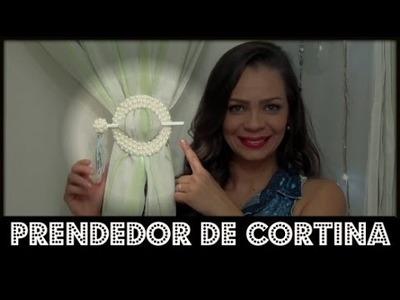 DIY. #DOLIXOAOLUXO.PRENDEDOR DE CORTINA.LETICIA ARTES