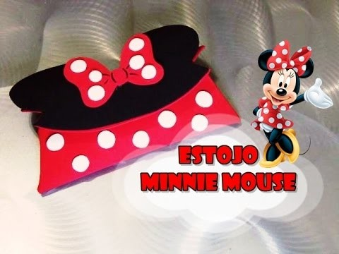 DIY.: Estojo Minnie Mouse