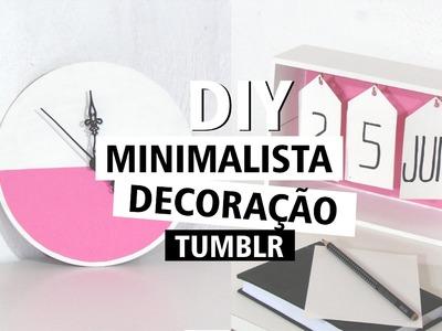 DIY Minimalista - Decoração TUMBLR