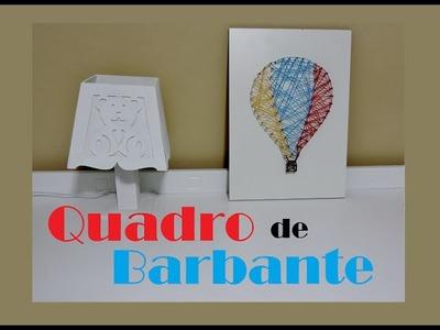 DIY - Quadro de Barbante