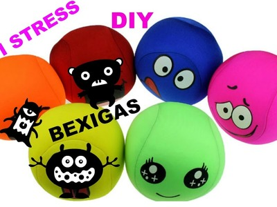 DIY BALÕES ANTI STRESS-SUPER FÁCIL !!! RELAX BALL TOO COOL !!!