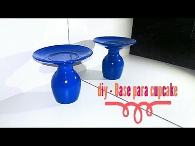 DIY- base para cupcake