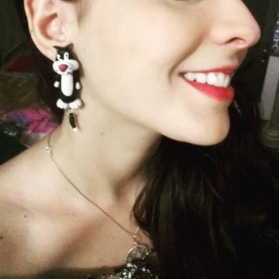 DIY: Brinco de Gatinho - Frajola (Cat Earrings - Sylvester).