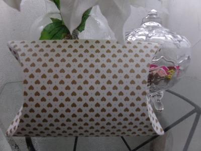 DIY: Caixa de presente, a caixa de presente mais fácil e mais barata do mundo!! ❤
