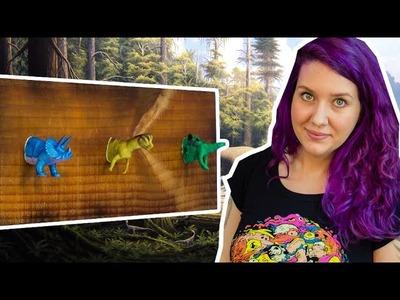 DIY: Como Fazer Cabideiro de Dinossauros