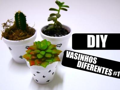DIY: Vasinhos diferentes #1