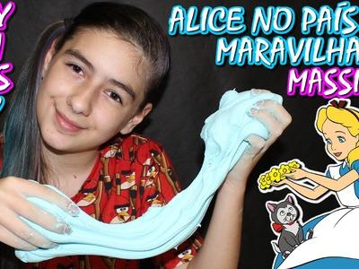 Play Doh Alice no País das Maravilhas Como Fazer Plus Caseira (DIY, Filme, Massinha Modelar, Disney)