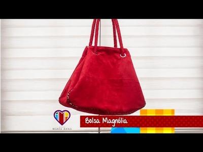 Bolsa sacola Magnólia - Cursos e vendas de bolsas de tecido é no Maria Adna Ateliê