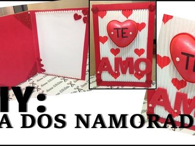 DIY: Cartão Para O Dia Dos Namorados-Lucas E.V.Arts.