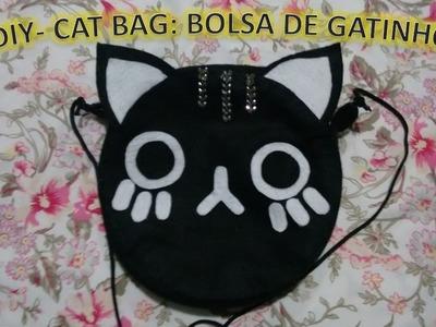 DIY - Cat Bag: Bolsa de gatinho
