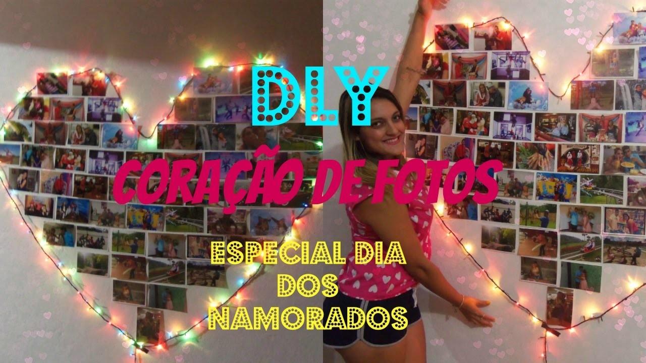 DIY: Coração De Fotos Especial Dia Dos Namorados